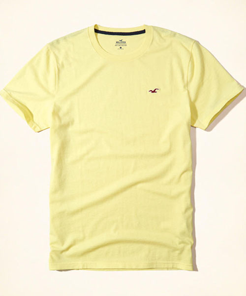 280932f855a7 Hollister Crew Neck T-Shirt Yellow #MTH1 – Online Shopping in Pakistan:  Fashion | Cash on Delivery| mYar.pk