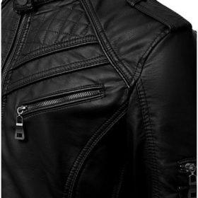 stylish leather jacket mlj1 online shopping in pakistan fashion