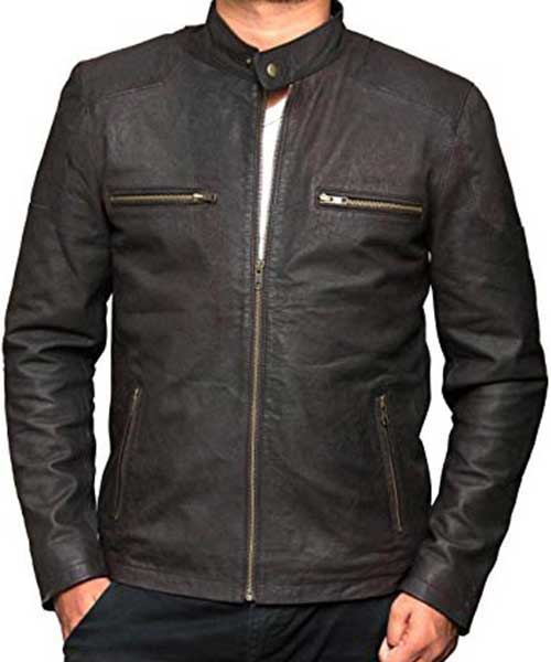 Captain America Leather Jacket Mlj3 Online Shopping In Pakistan