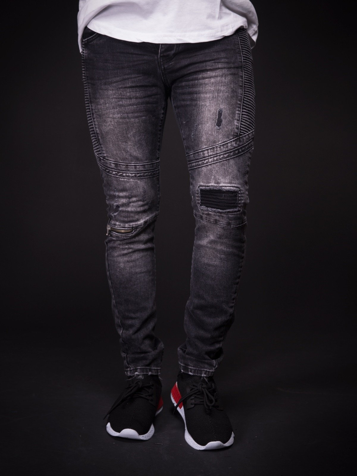 Men Slim Fit Distressed Jeans  MJ2Black – Online Shopping in ... f20e1fa5b0