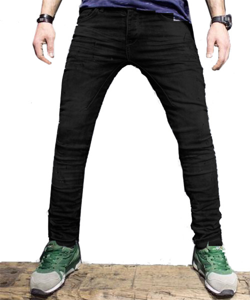 Men Slim Fit Distressed Jeans  MJ1Black – Online Shopping in ... 6c10ccc76c