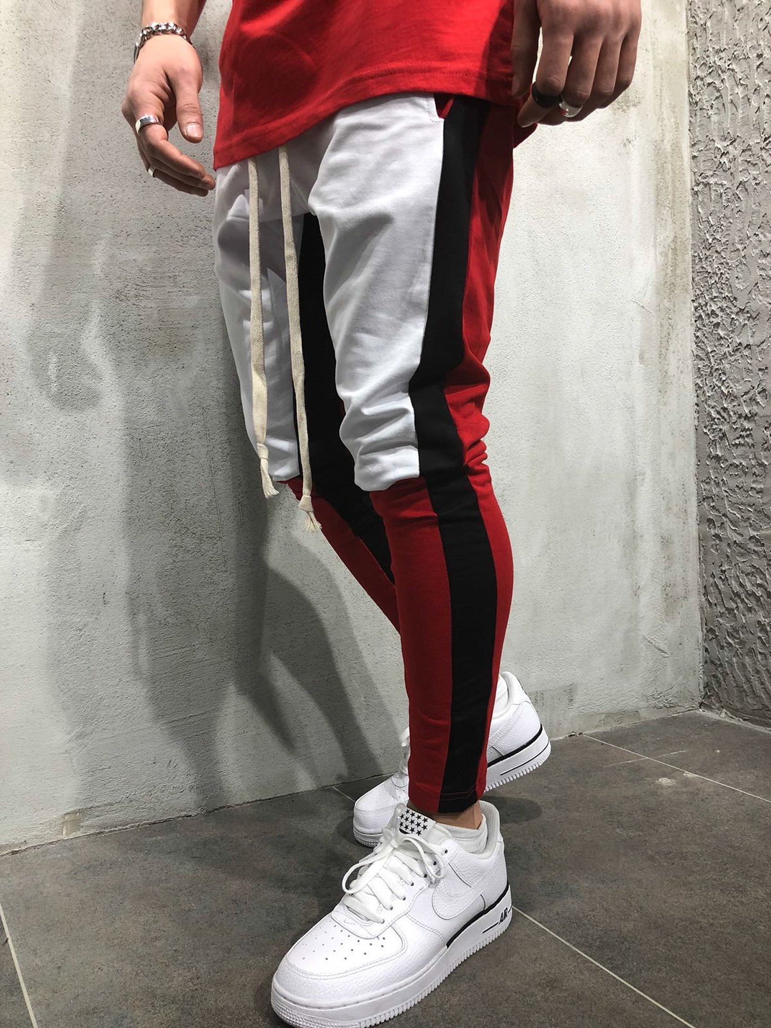 Men Slim Fit Casual Tricolor Sweatpants  MST10 – Online Shopping in ... 47c8c1ada2