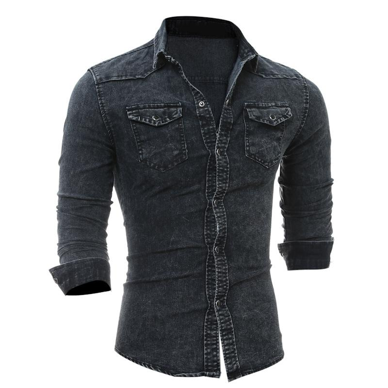 Denim Washed Shirts  MDS3Black – Online Shopping in Pakistan ... 6ced8fa691