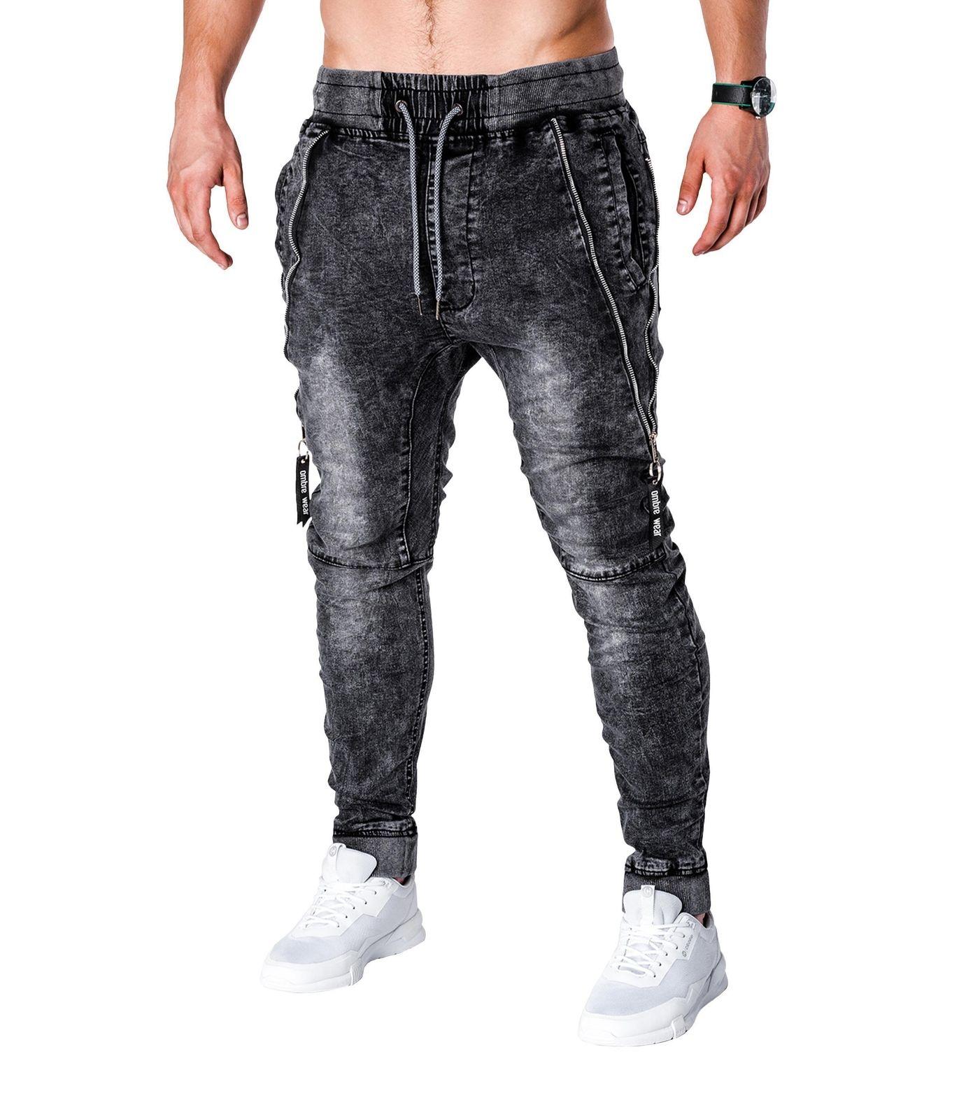 4e4e52d5ac4 Men Slim Fit Jogger Jeans  MST11Black – Online Shopping in Pakistan ...